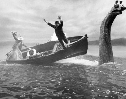 Loch Ness dans le film La Vie Privée de Sherlock Holmes