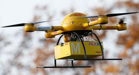 Drone livreur de DHL