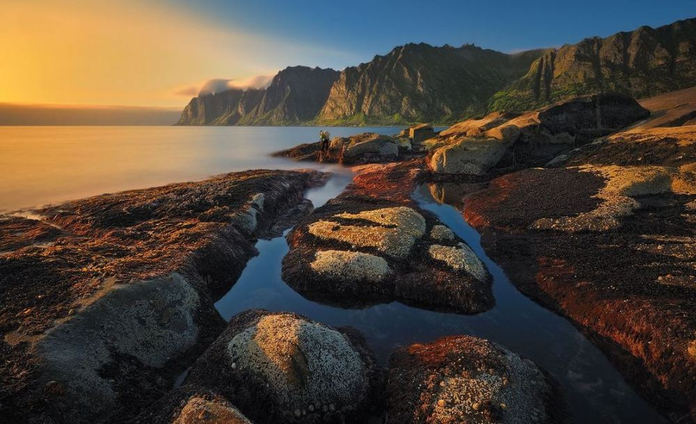 Baie de Senja, Okshorman Norvege.JPG