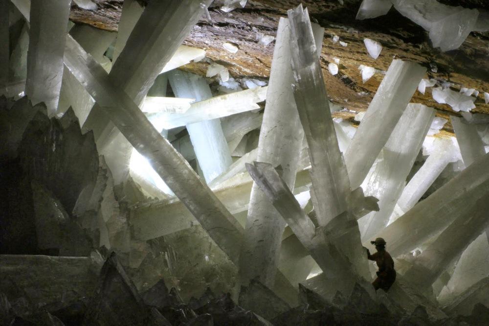 cristaux géants mine Naica Mexique