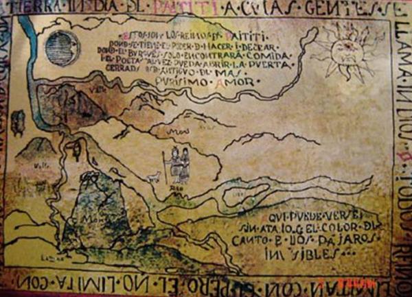 Carte du 18eme siècle