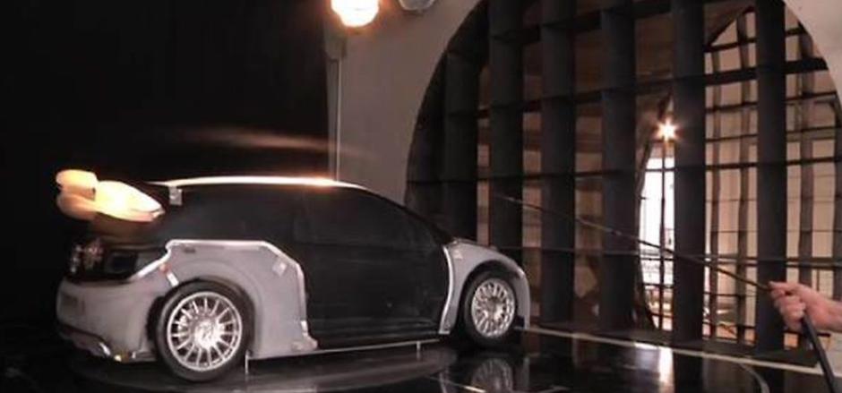 eiffel test voiture de rallye