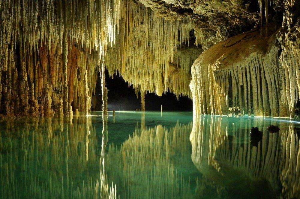 rio-secreteo Cenote Mexique