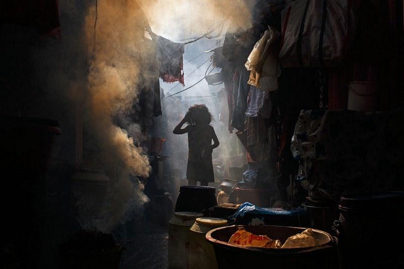 bidonville de Manaus Manille