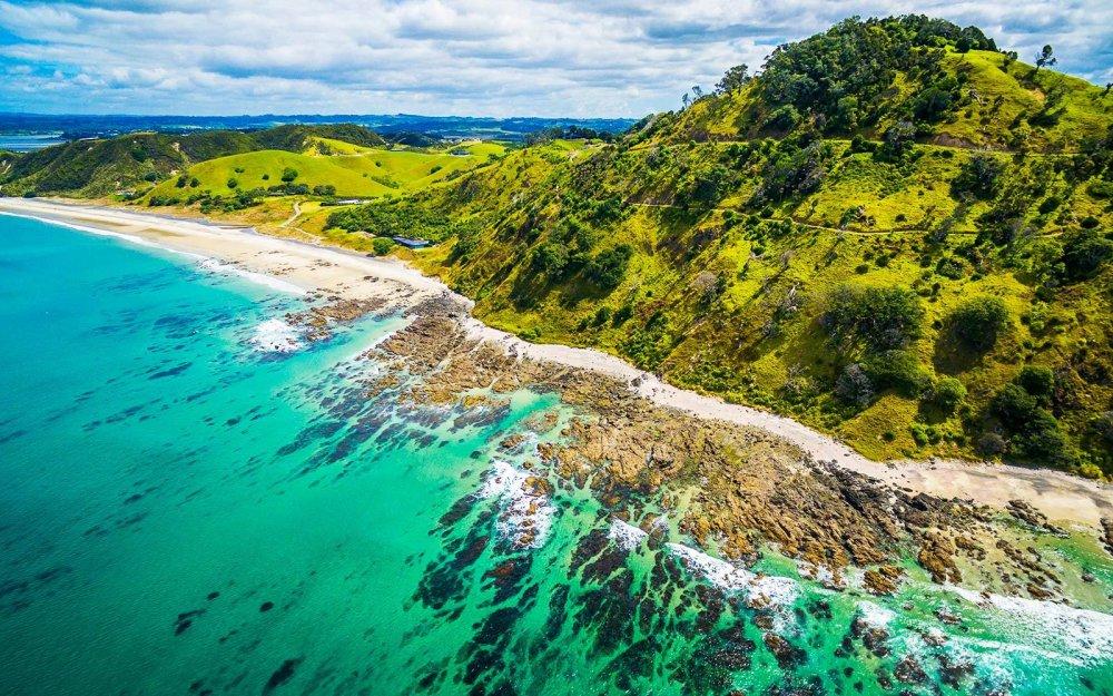 Mangawhai Aerial View
