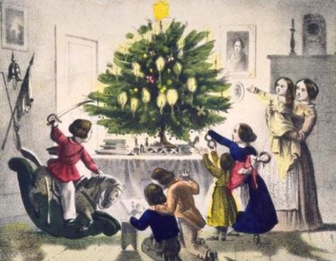 sapin Noel 19e