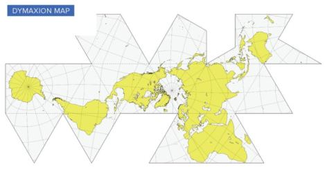Projection de Dymaxion