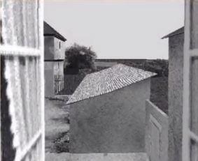 La vue réelle du Gras (maison de Niépce)