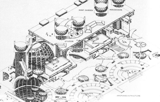 Arcosanti plan 1