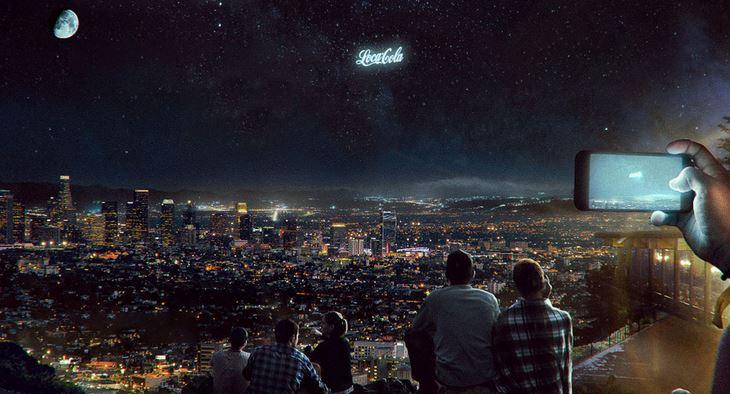 publicité orbitale