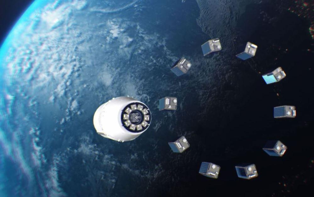 publicité orbitale cubesat