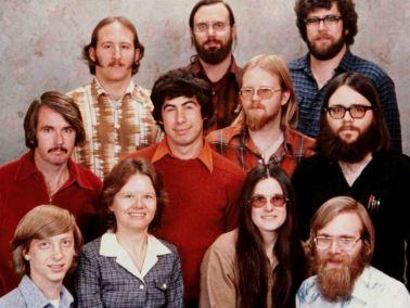 Microsoft premiers salariés.JPG