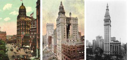 Premiers gratte-ciels NY