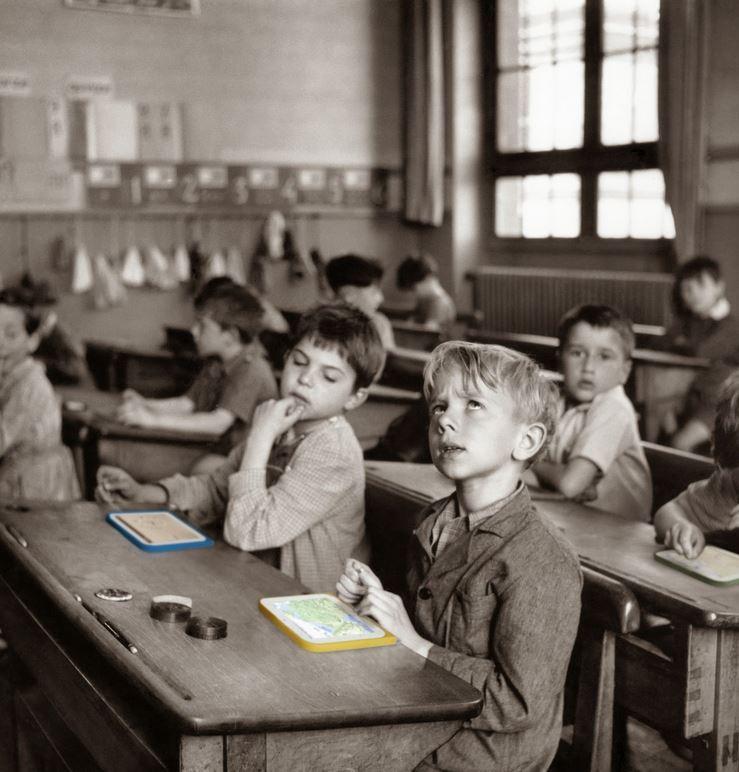rentrée scolaire Robert Doisneau