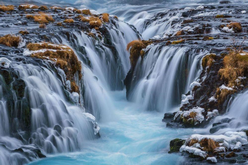 Cascade de Bruarfoss Islande @Kai Hornung National Geographic Your Shot