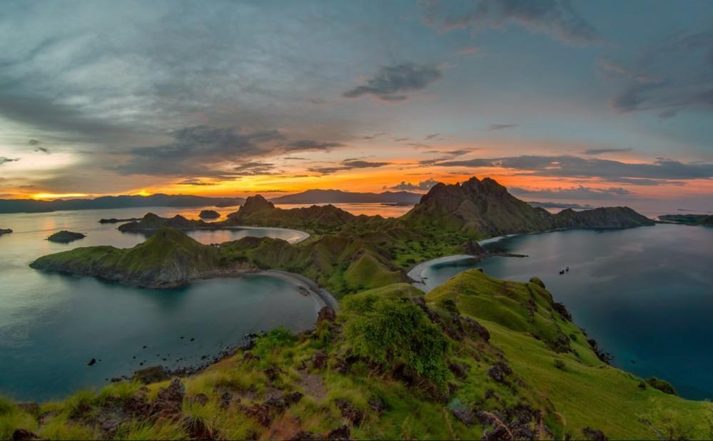 Ile Padar Indonésie Parc des volcans de Komodo photo Abdul Azis
