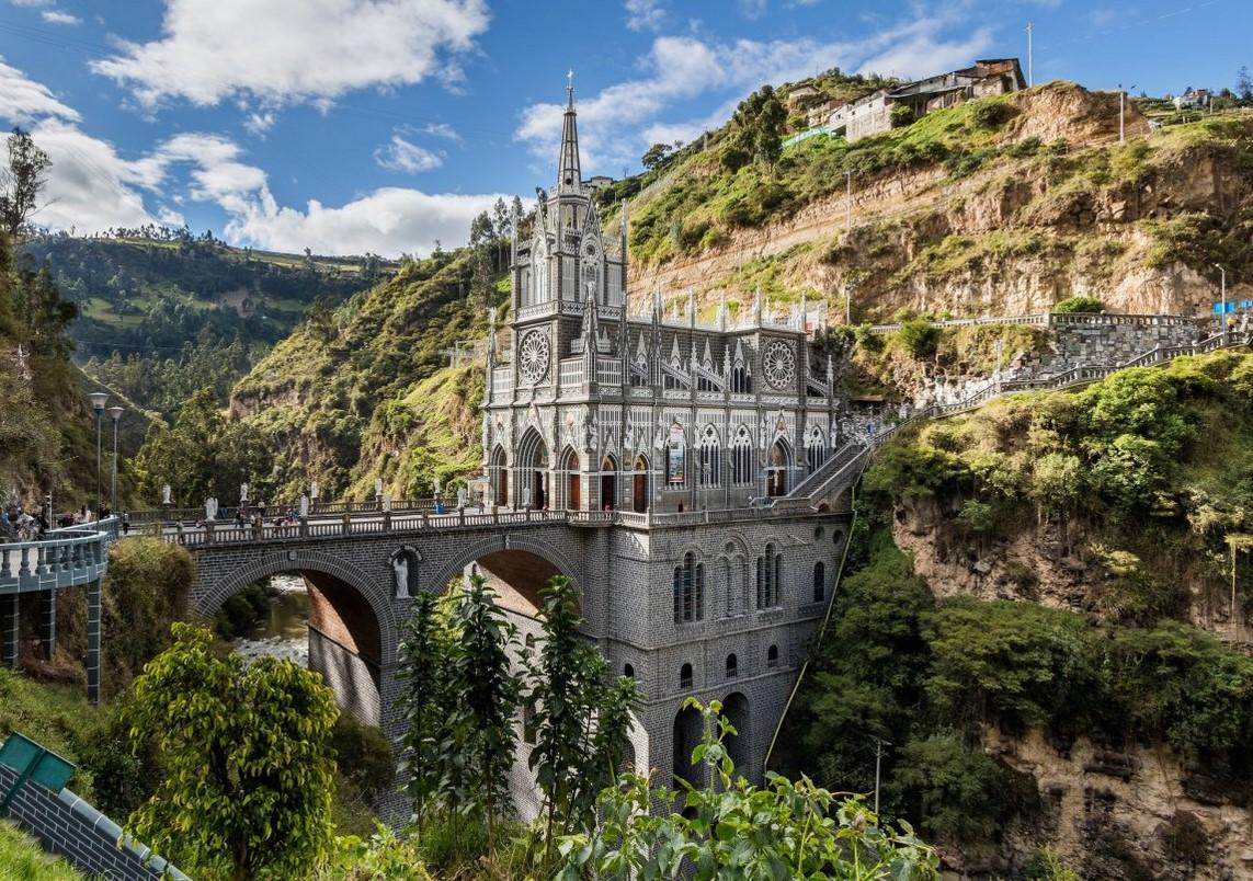 Eglise Las Rajas Colombie