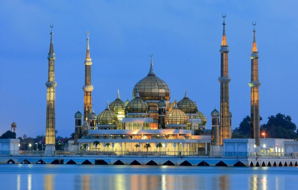 Mosquee de cristal Malaisie