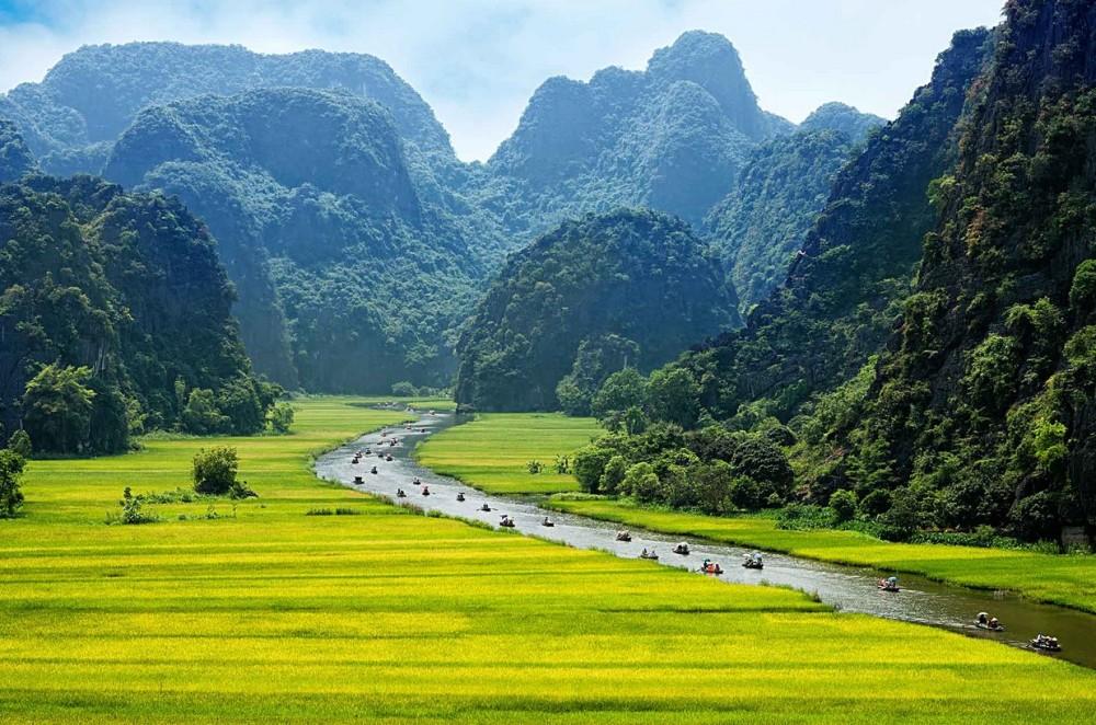 rizieres Tam Coc Vietnam