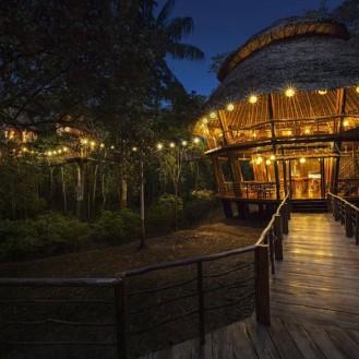 Treehouse lodge Perou2