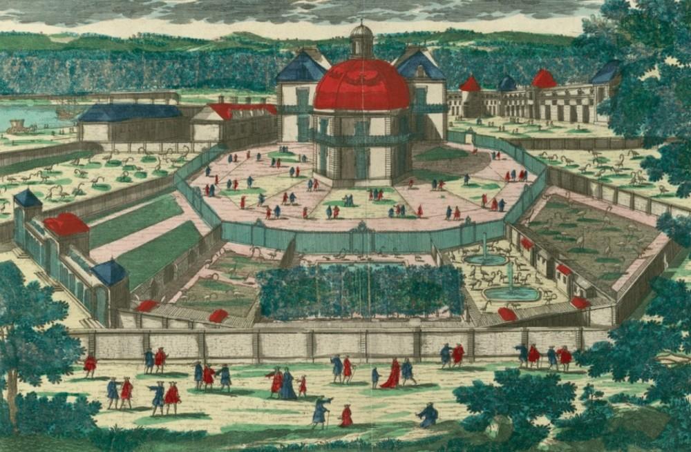 ménagerie Versailles