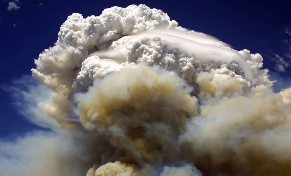 nuage pyrocumulus Arizona