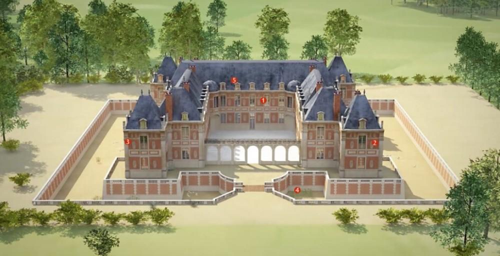 Versailles pavillon chasse2