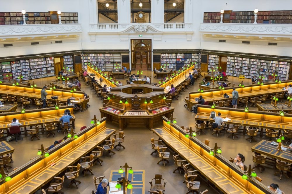 Bibliotheque-Etats-Victoria-Melbourne Australie2