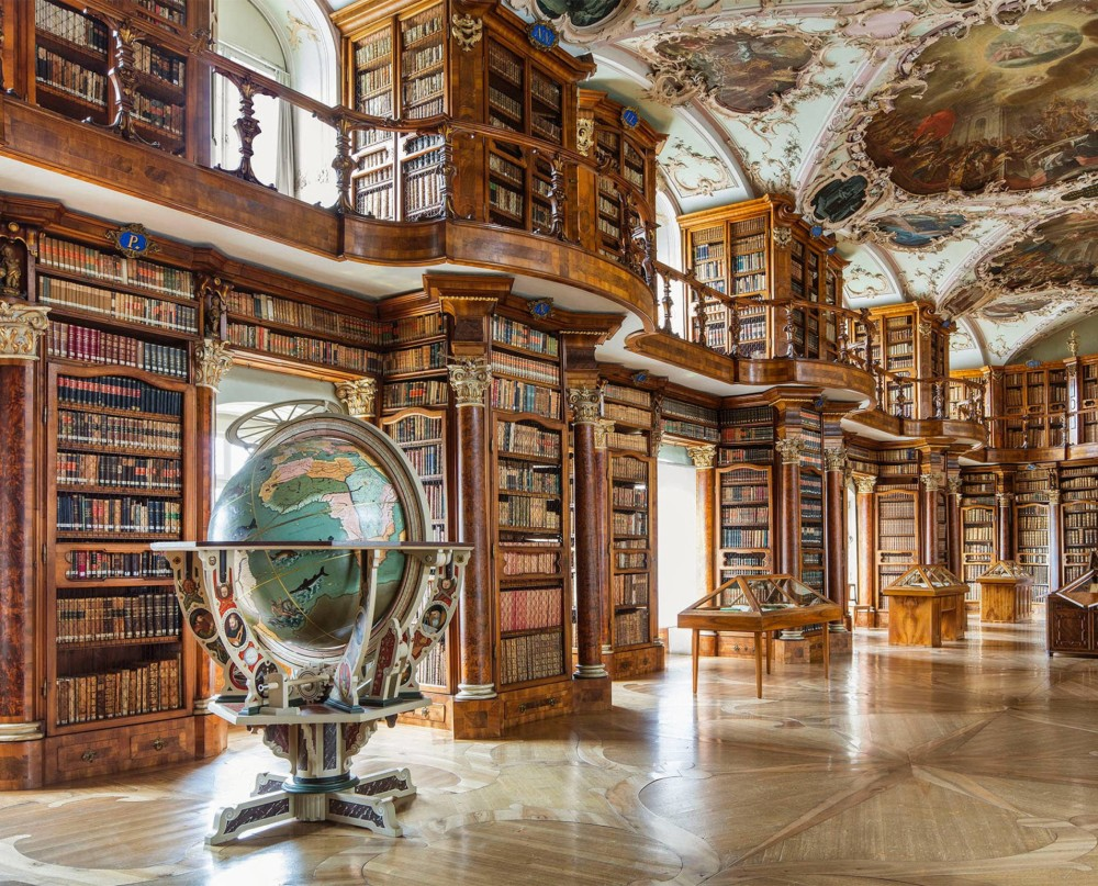 Bibliotheque Saint Gall Suisse