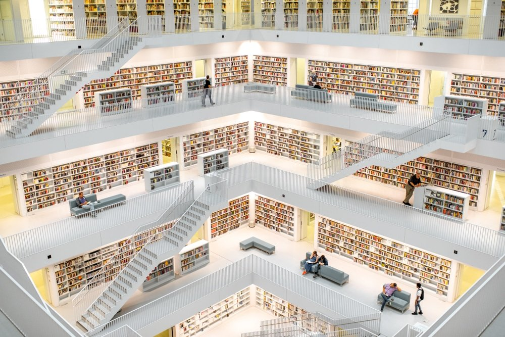 bibliotheque Stuttgart
