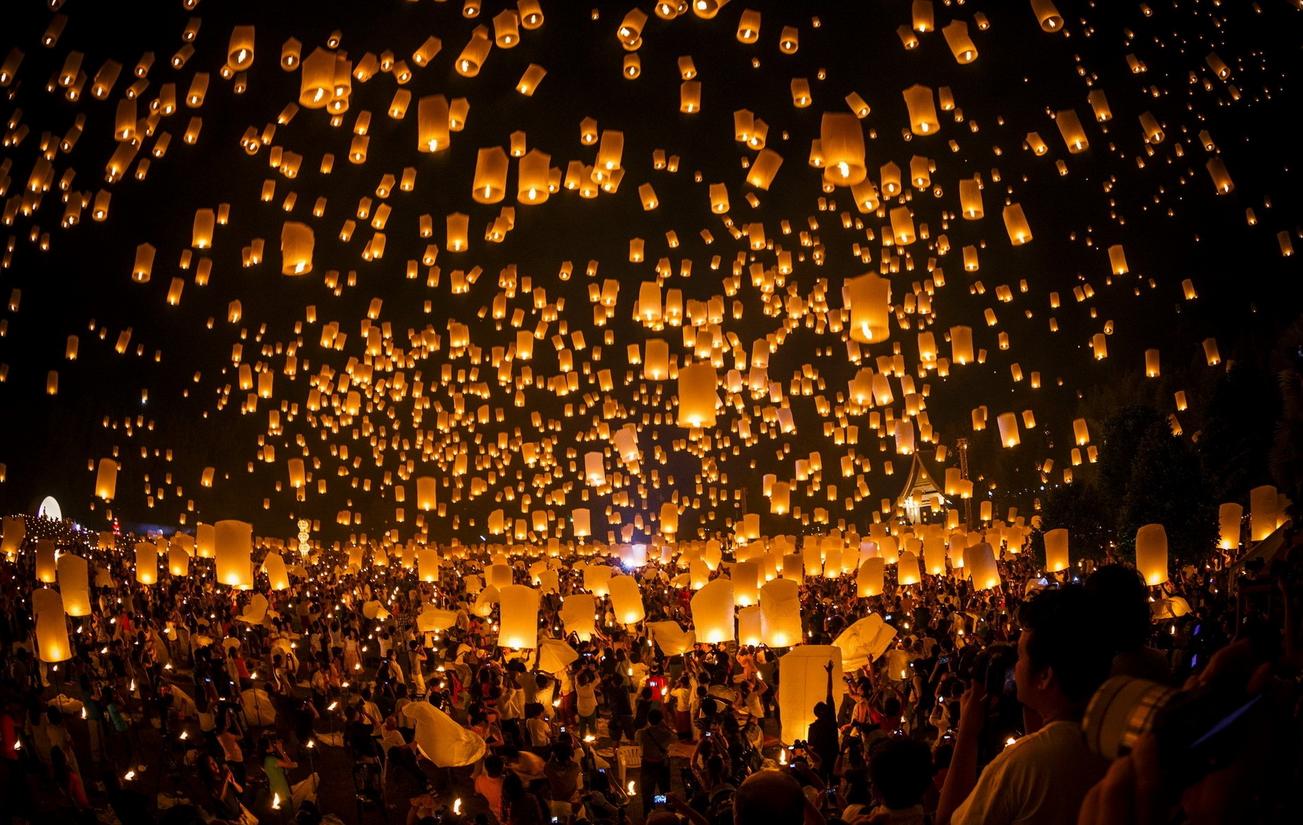 lanterne céleste fete